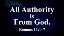 """2018-02-25,  """"Submit to Government, Surrender to God"""""""