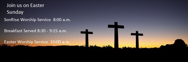 Easter Sunday Worship Schedule